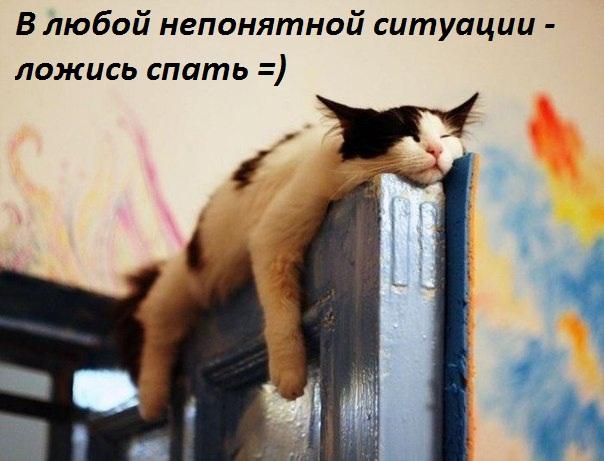 Ложись спать!